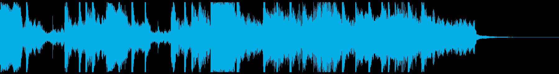 サラサラ ジャズ フュージョン ゆ...の再生済みの波形