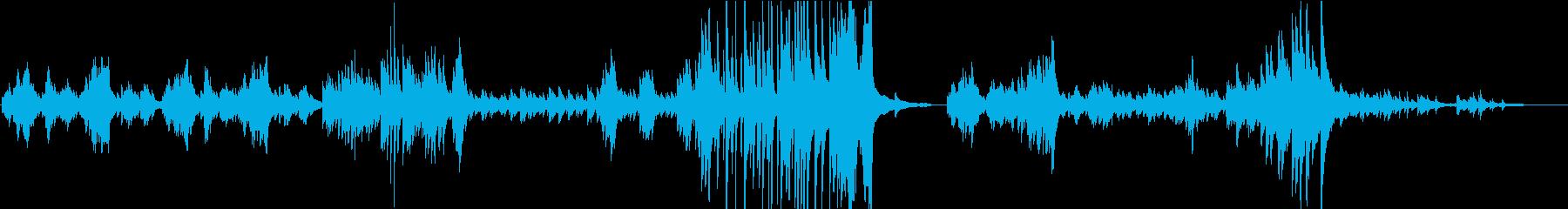 切ない系ヒーリング曲をピアノソロで♪の再生済みの波形