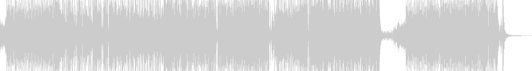 胸キュン・可愛いテクノポップ 短尺の未再生の波形