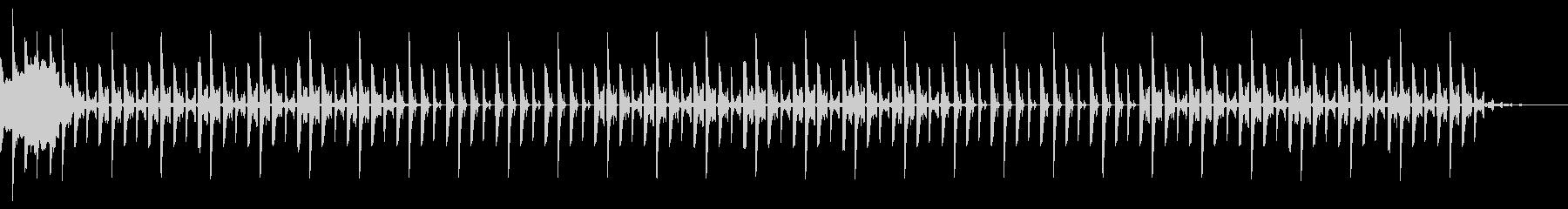 1分ジングル、エレクトリック、ポップの未再生の波形