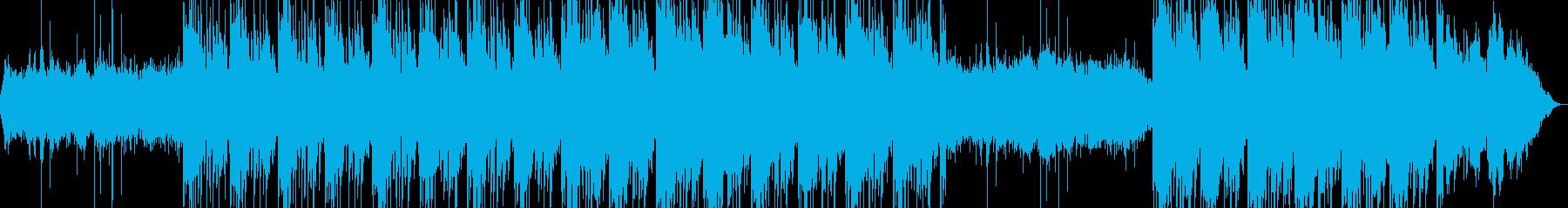 軽めのピアノが特徴温かく繊細なチルアウトの再生済みの波形