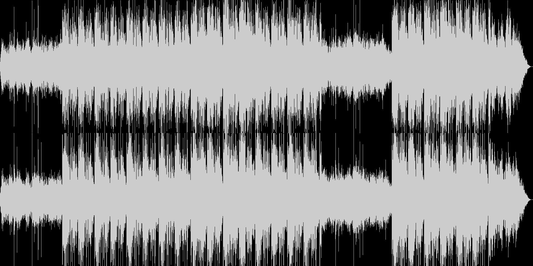 軽めのピアノが特徴温かく繊細なチルアウトの未再生の波形
