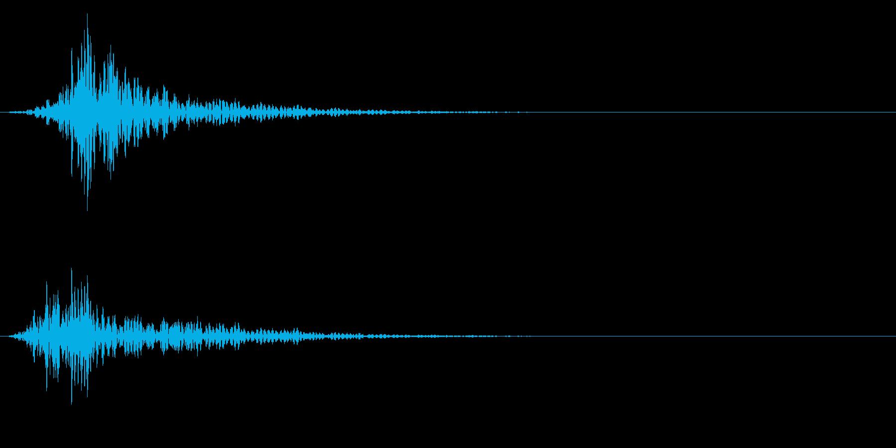 シネマティック 風切り インパクト!16の再生済みの波形