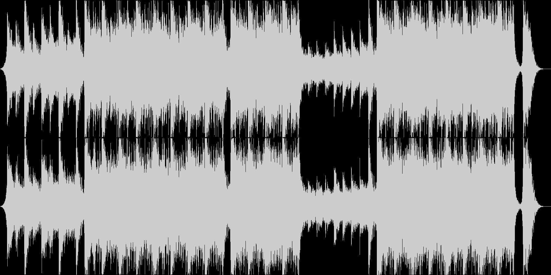 シネマティクオーケストラ・切なくて重厚の未再生の波形