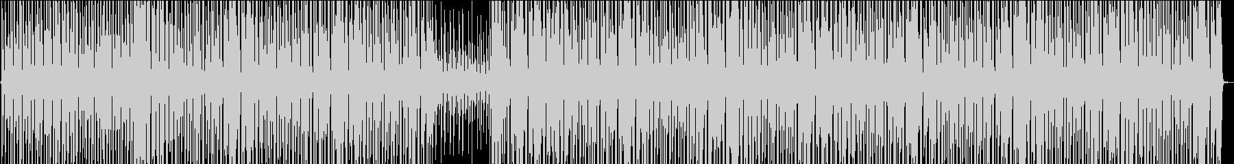 サバイバルをイメージ・クール・緊張感の未再生の波形