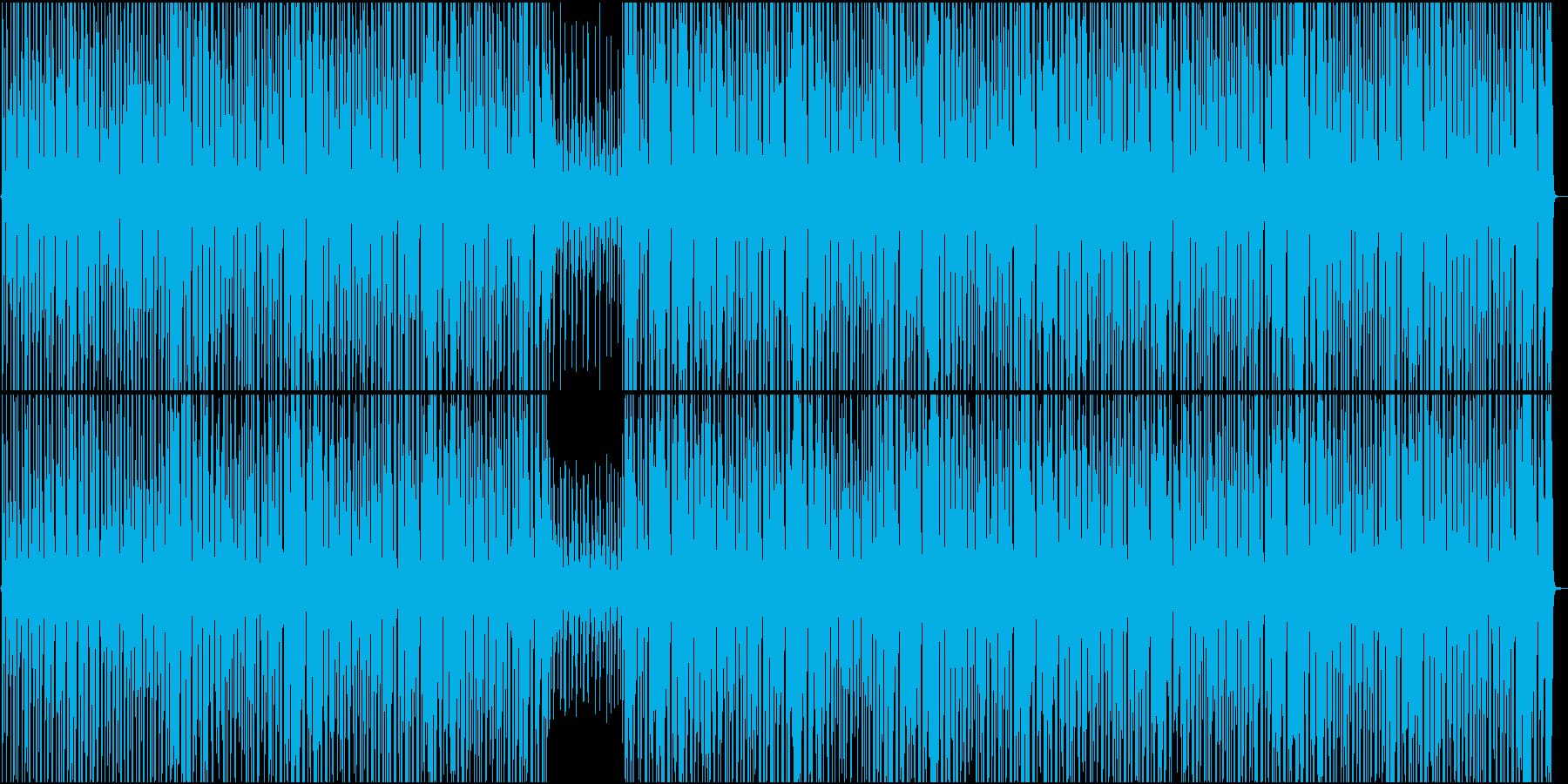 サバイバルをイメージ・クール・緊張感の再生済みの波形