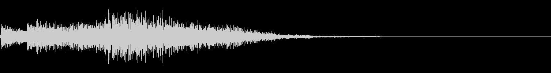 チャララララ(回復クリア/ファミコン#3の未再生の波形