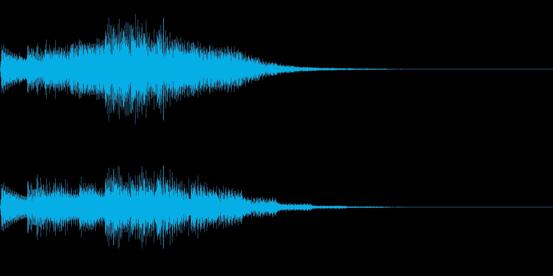 チャララララ(回復クリア/ファミコン#3の再生済みの波形