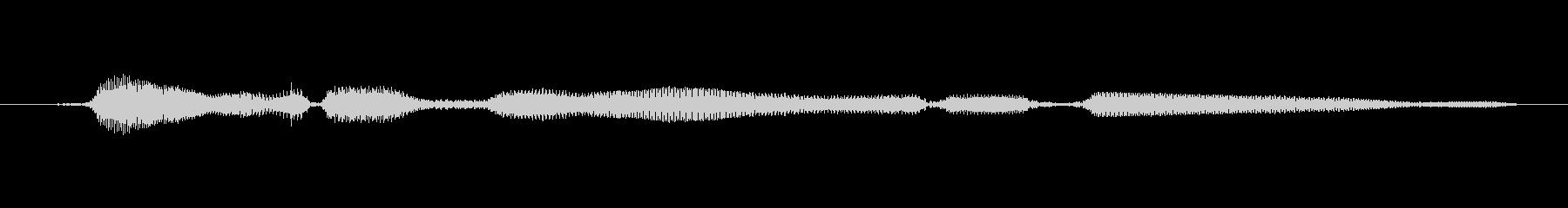 鳴き声 女性トークエルフィッシュ17の未再生の波形