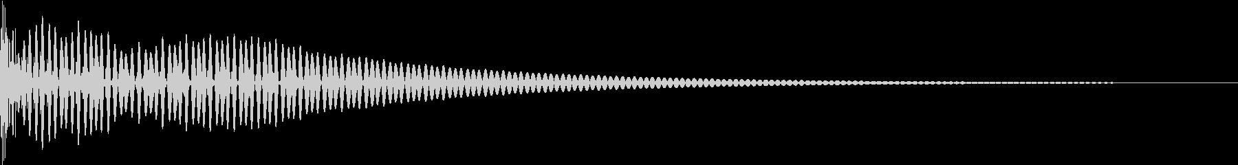 DTM Tom 12 オリジナル音源の未再生の波形