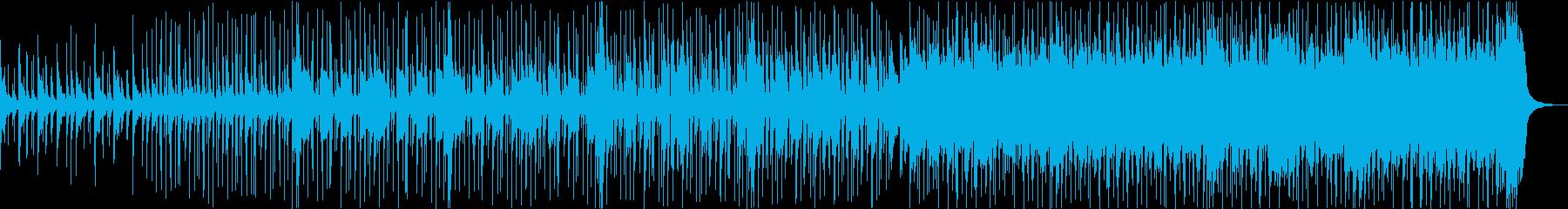 楽しい・歌舞伎・三味線の和風ブルースの再生済みの波形