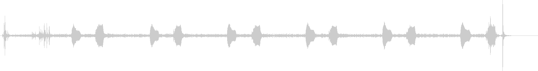 鳩時計1:ストライクシックスオクロ...の未再生の波形