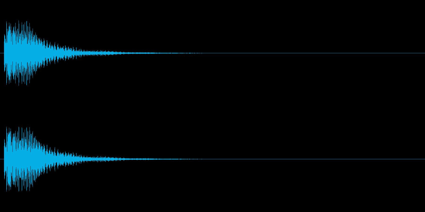【光る01-1】の再生済みの波形
