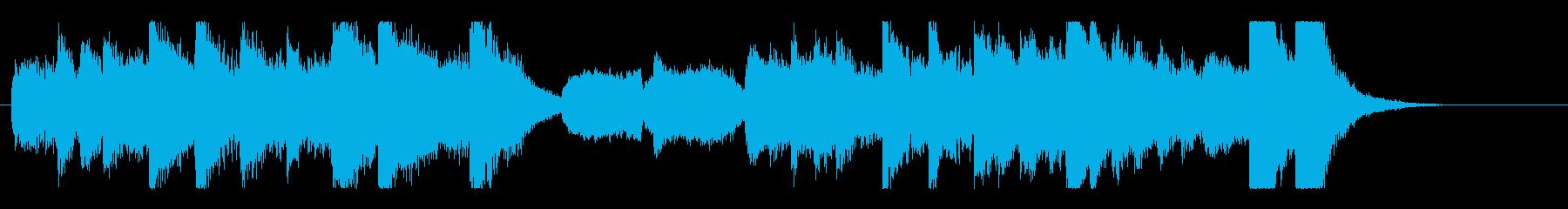 怪しくコミカルなハロウィンオーケストラの再生済みの波形