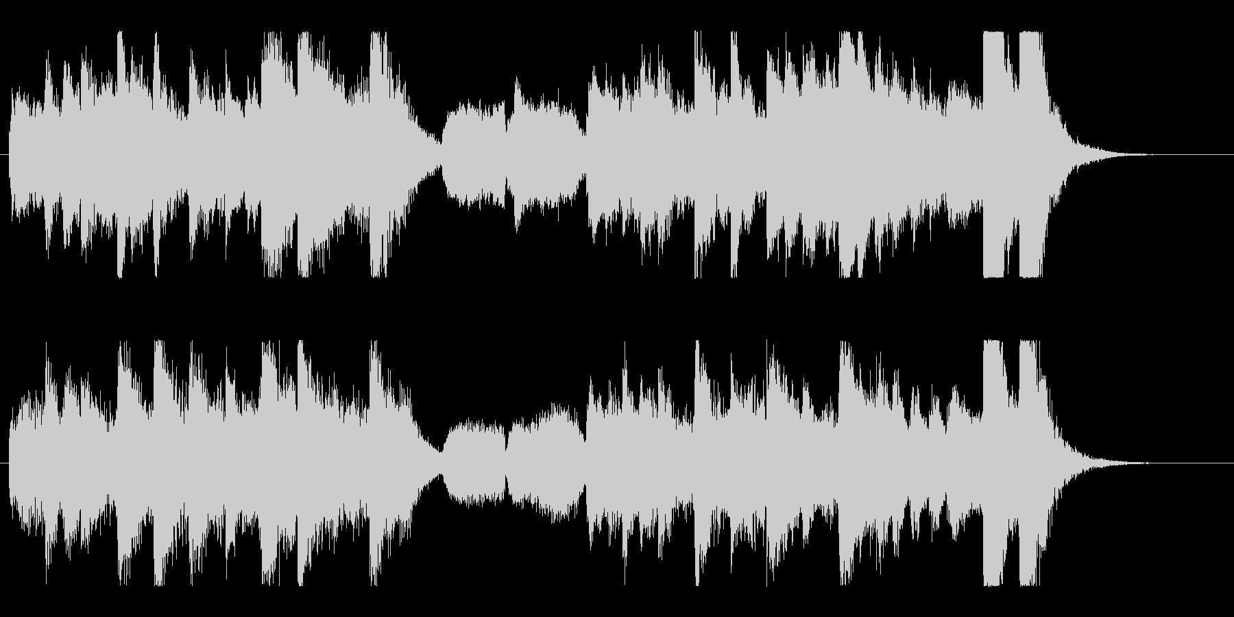 怪しくコミカルなハロウィンオーケストラの未再生の波形