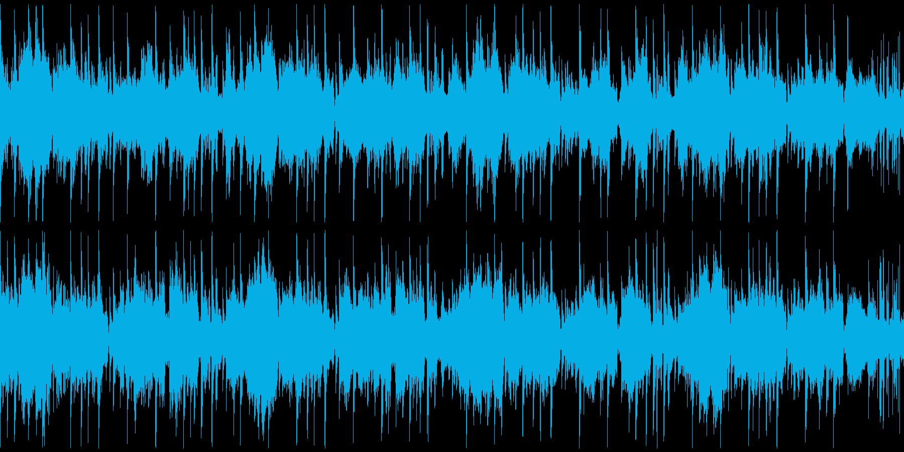海の中を泳ぐようなオシャレポップなループの再生済みの波形