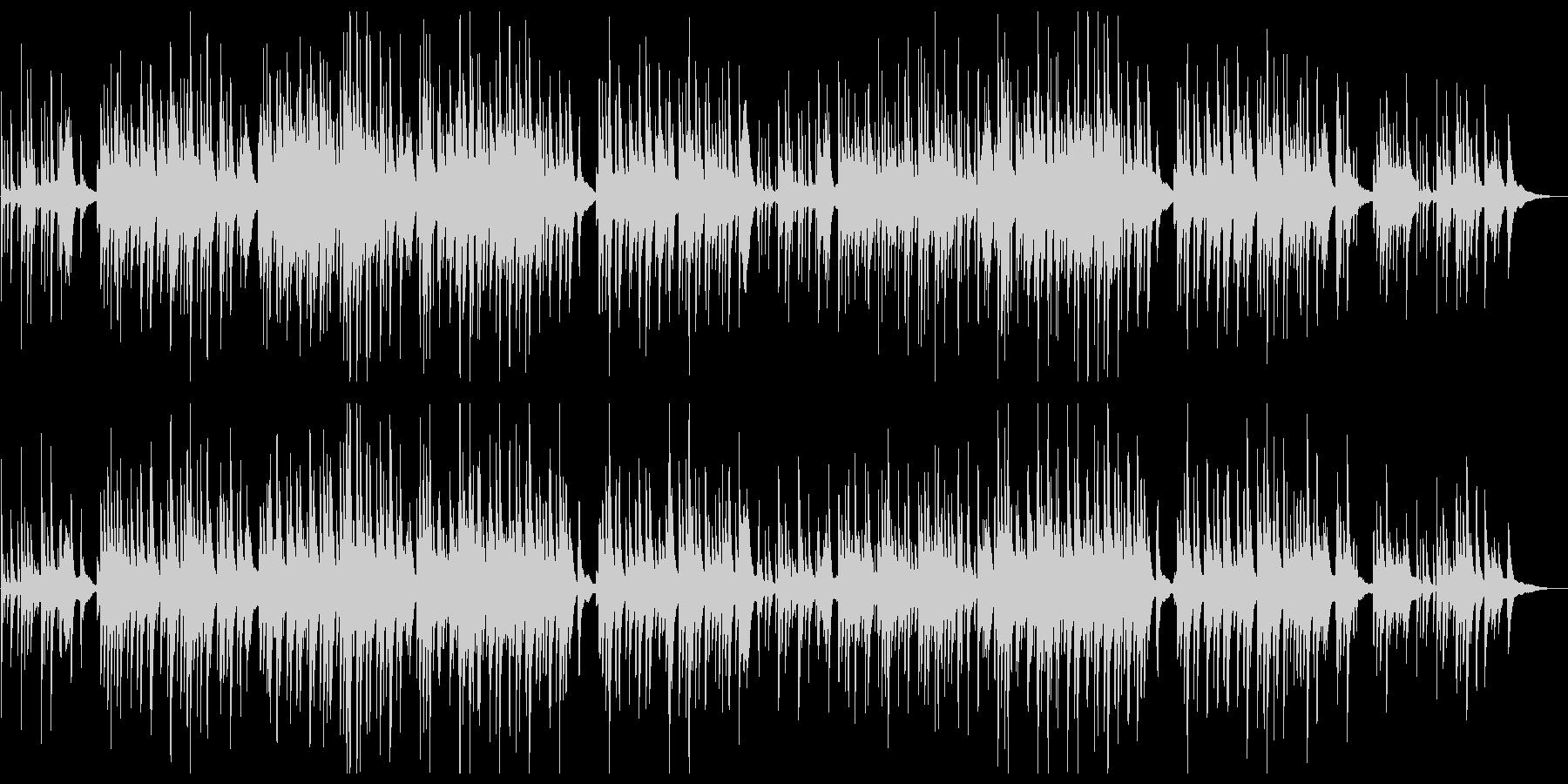 しっとりと切ないピアノバラードの未再生の波形