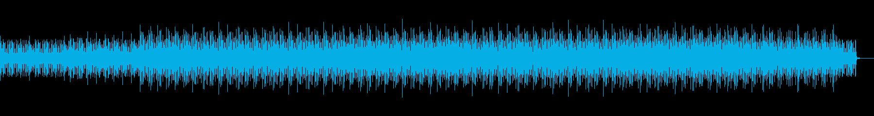 ピアノとグロッケンのコミカルで可愛い劇伴の再生済みの波形