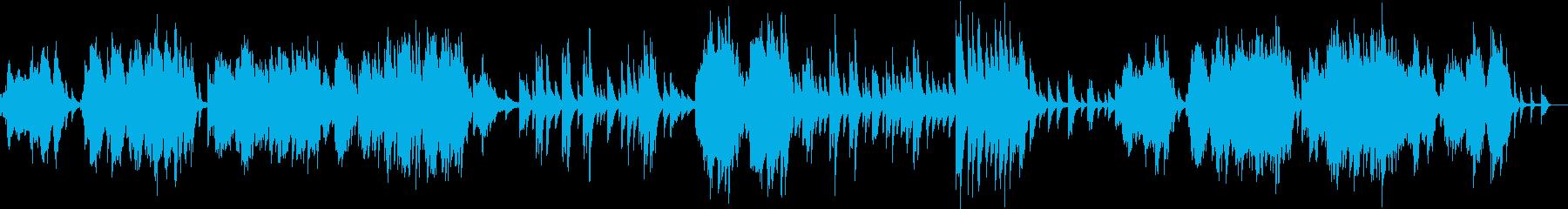 ドビュッシー 2つのアラベスク 第1番の再生済みの波形