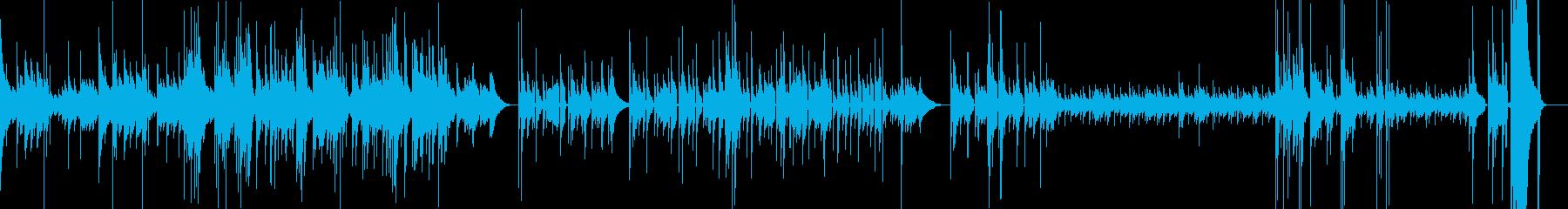 感動的なシーンなどに最適な楽曲ですの再生済みの波形