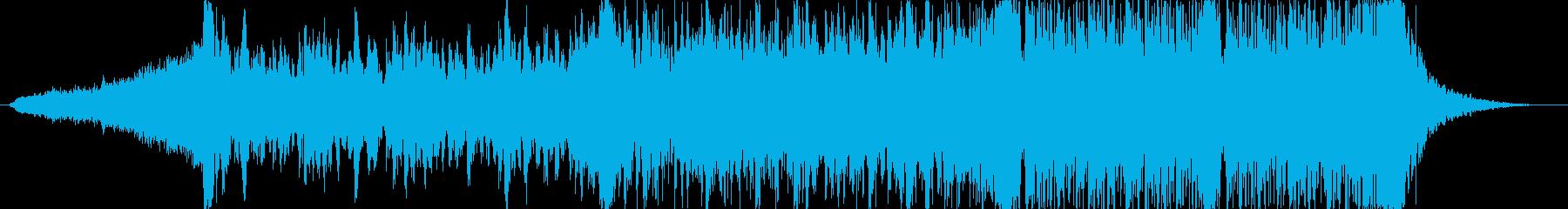 テレビゲーム サスペンス アクショ...の再生済みの波形