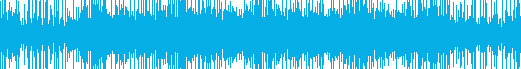 灼熱の熱さを感じるアフロサウンドの再生済みの波形