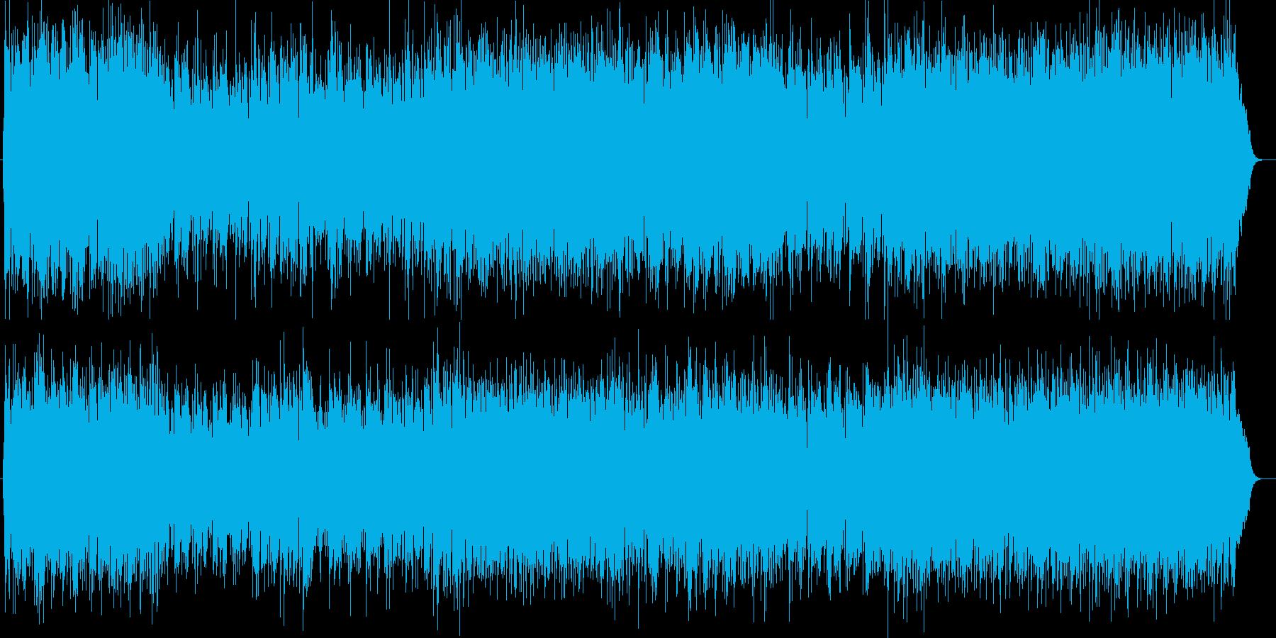 さわやかで疾走感あるシンセポップスの再生済みの波形