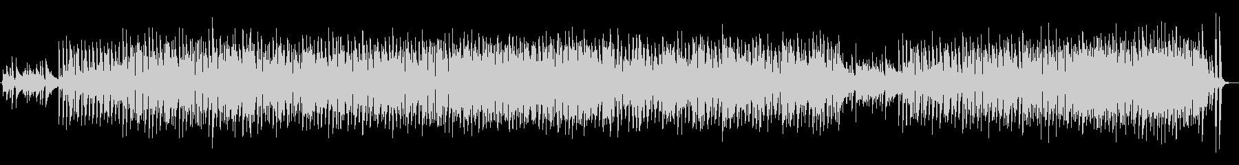 おしゃれな都会の夜のピアノメインBGMの未再生の波形