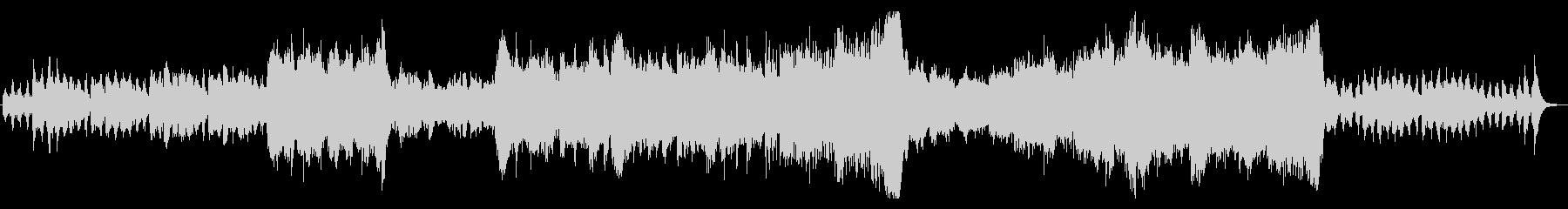オーケストラ風のファンタジックなインストの未再生の波形