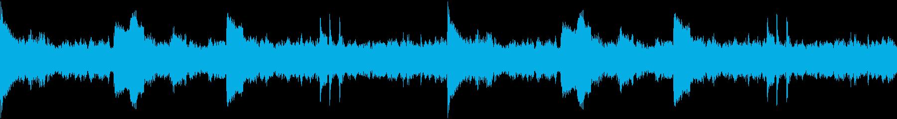 ギタースパークとグルーヴィーなリズ...の再生済みの波形