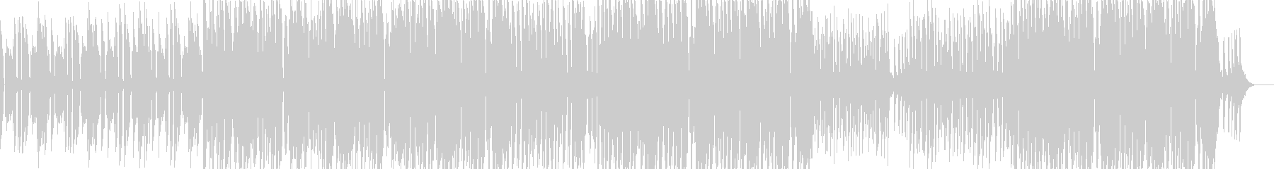 ベースラインのうねりとグルーヴ感により…の未再生の波形