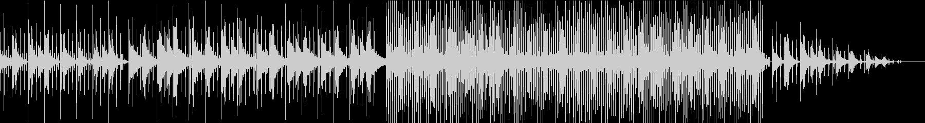 【Lofi hiphop】深夜の勉強にの未再生の波形