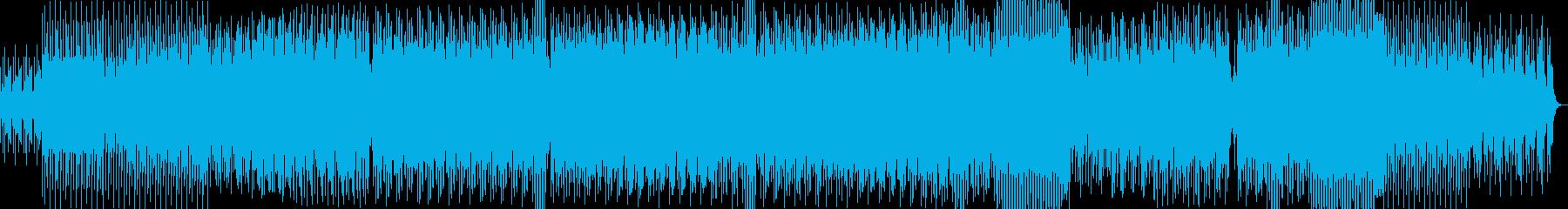ワクワク感が溢れるギターポップハウス系の再生済みの波形