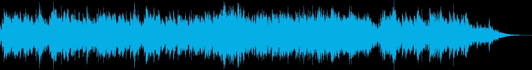 日常をフィルムカメラで映すようなBGMの再生済みの波形