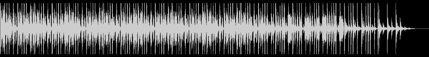 コミカルなファンク_No691_5の未再生の波形