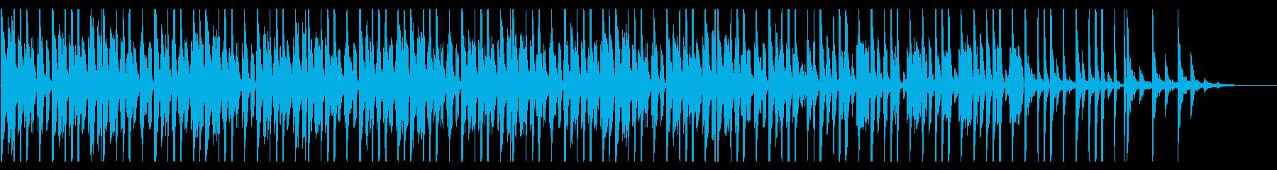 コミカルなファンク_No691_5の再生済みの波形