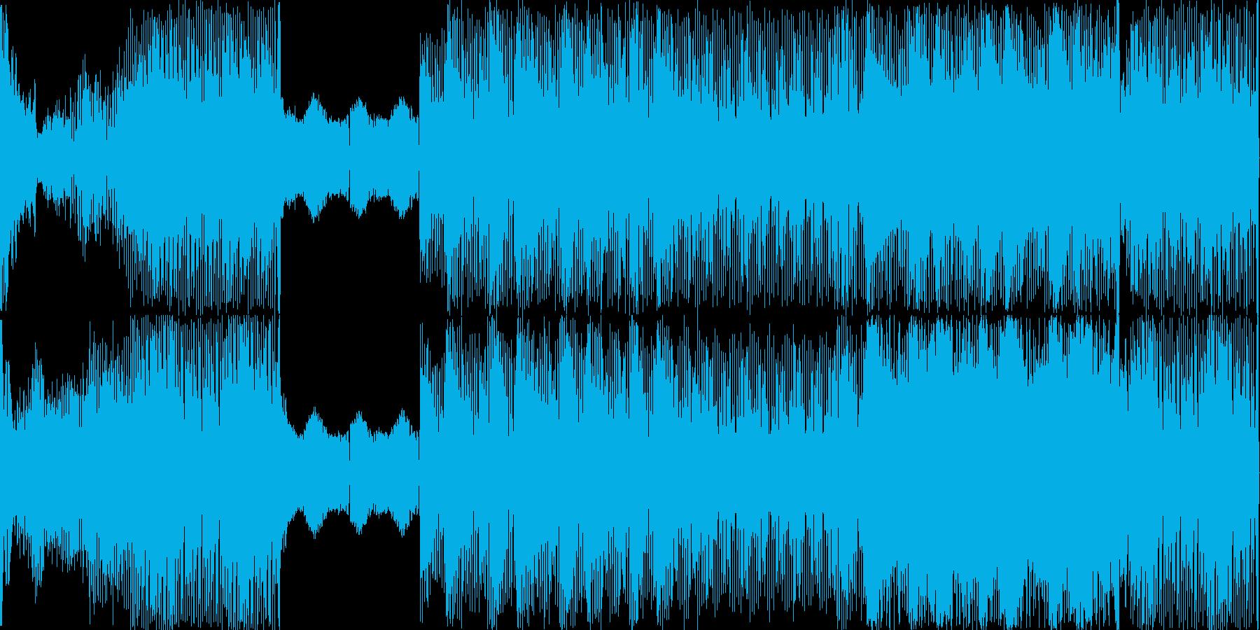 【怖い系】バイオハザードの再生済みの波形