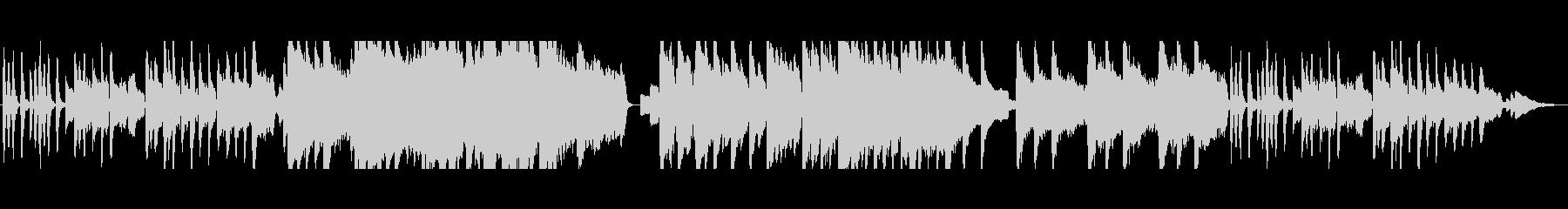 ファンタジーの街マップBGMの未再生の波形