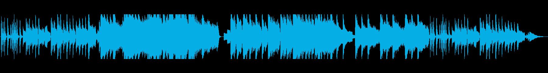 ファンタジーの街マップBGMの再生済みの波形
