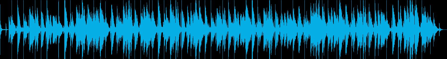 ピアノとフレットレスベースが特徴の...の再生済みの波形