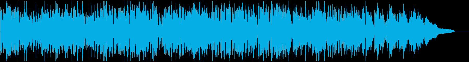 綺麗なメロディのアップテンポなボサノバの再生済みの波形