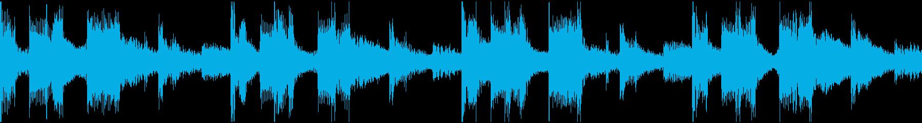このサウンドトラックは、電子アンビ...の再生済みの波形