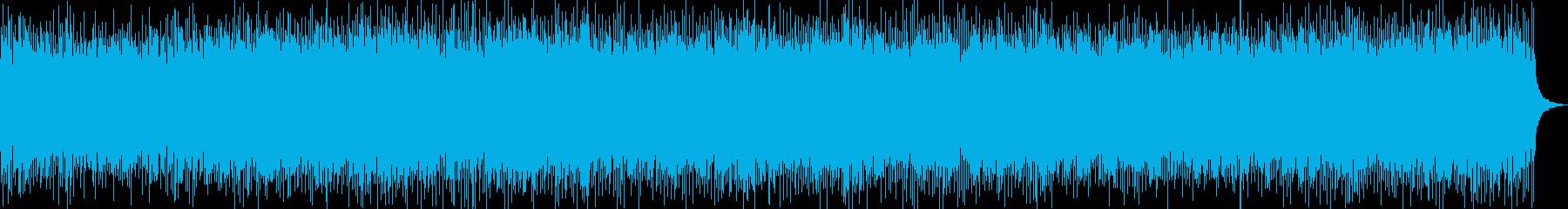 寂しい夏をイメージしたカントリーロックの再生済みの波形