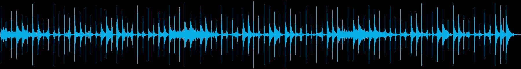 ラテンクロックワークパーカッション...の再生済みの波形