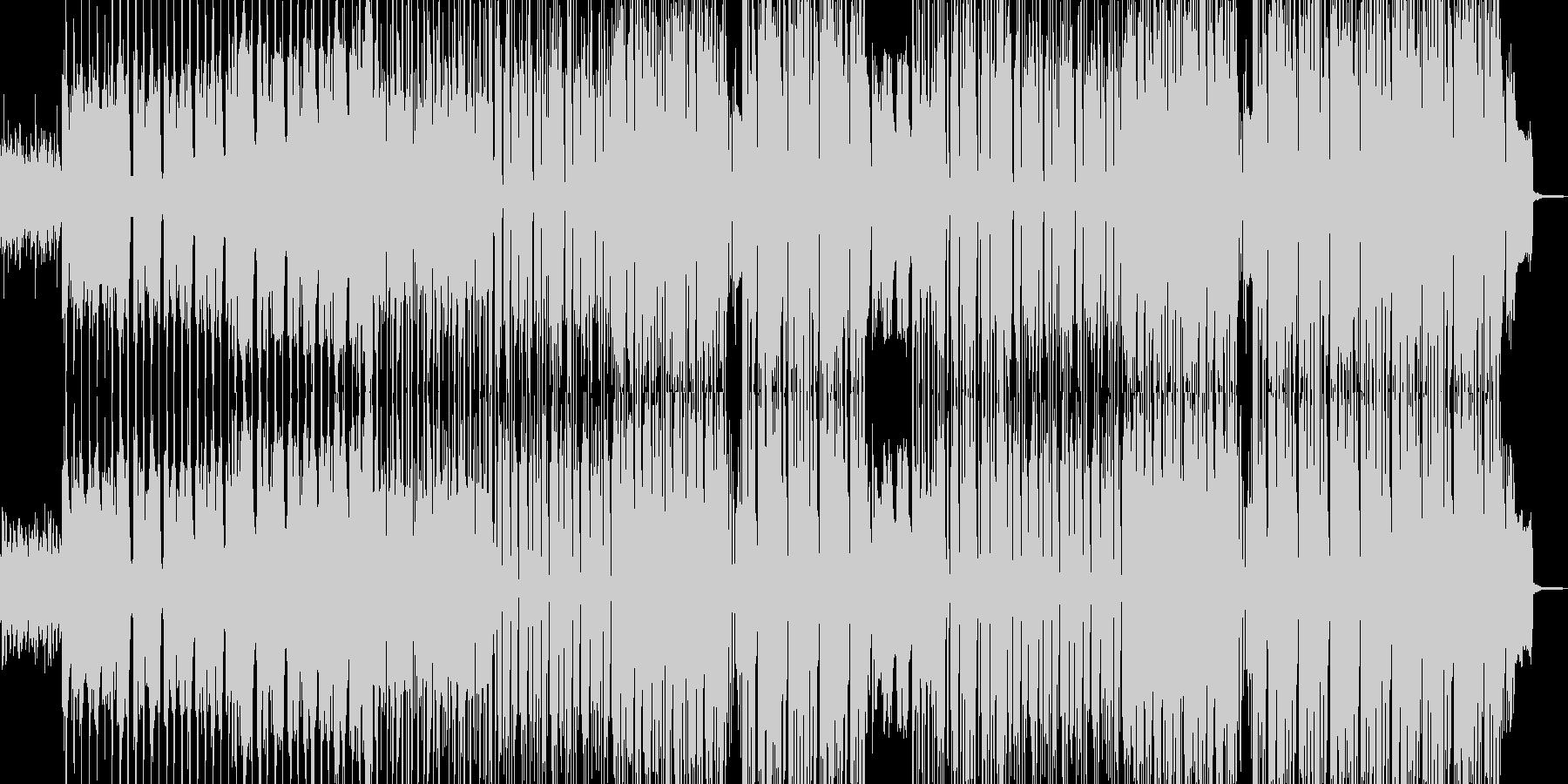 エモい雰囲気に適したヒップホップの未再生の波形