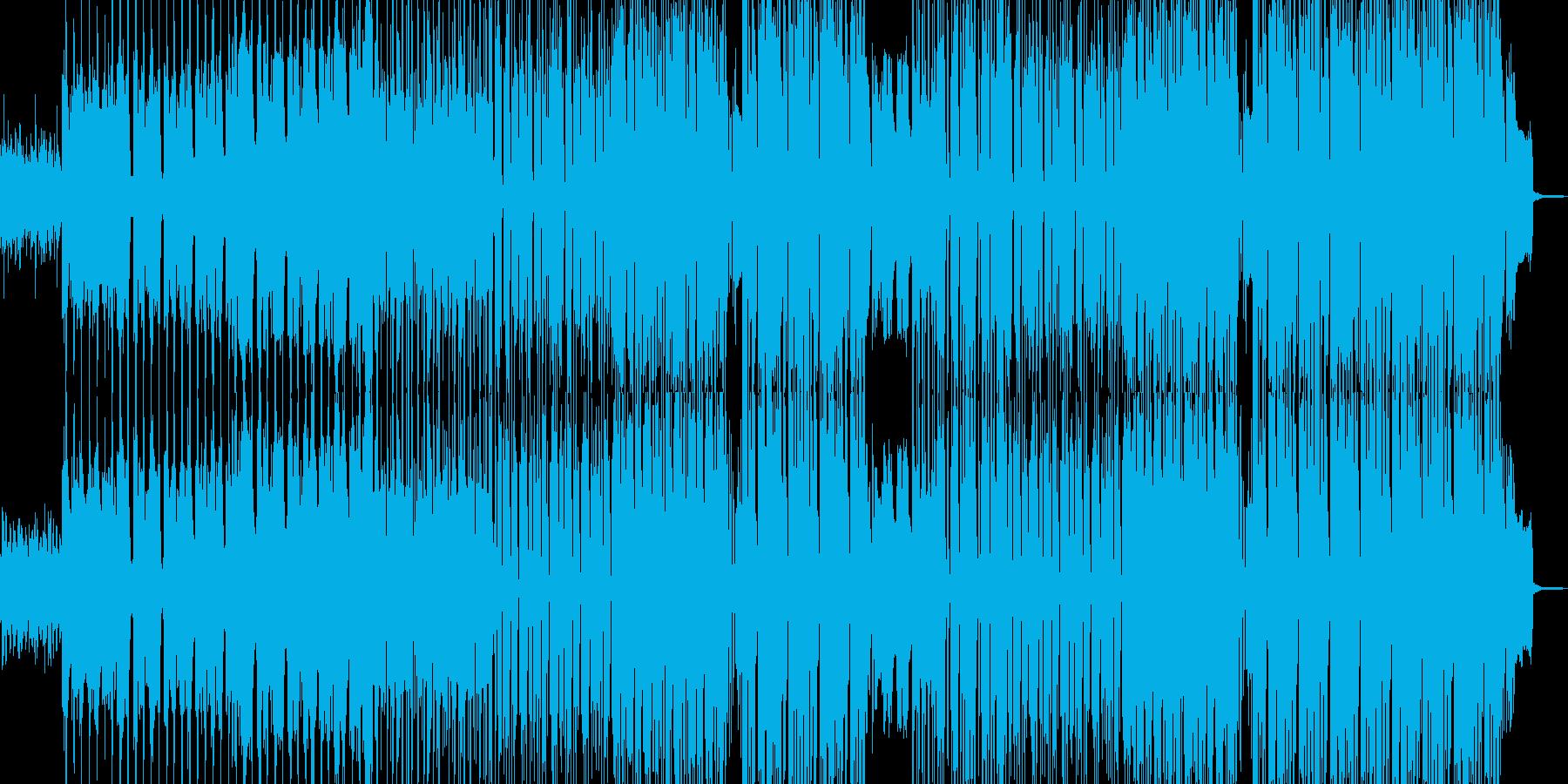 エモい雰囲気に適したヒップホップの再生済みの波形