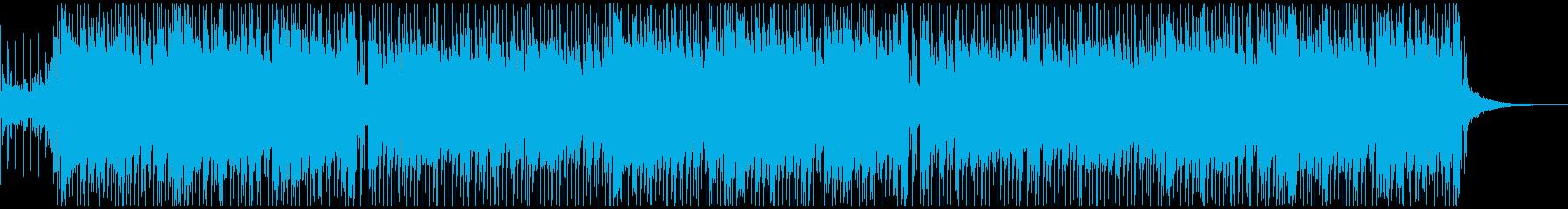 和楽器を使った軽快でかっこいい和風EDMの再生済みの波形