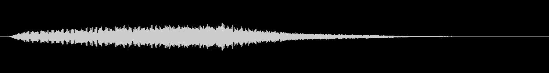 パッド エイティーズフィフスショート02の未再生の波形