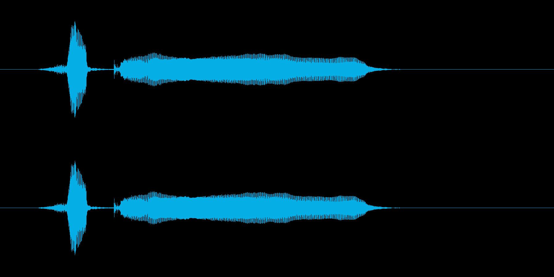しゃきーんの再生済みの波形