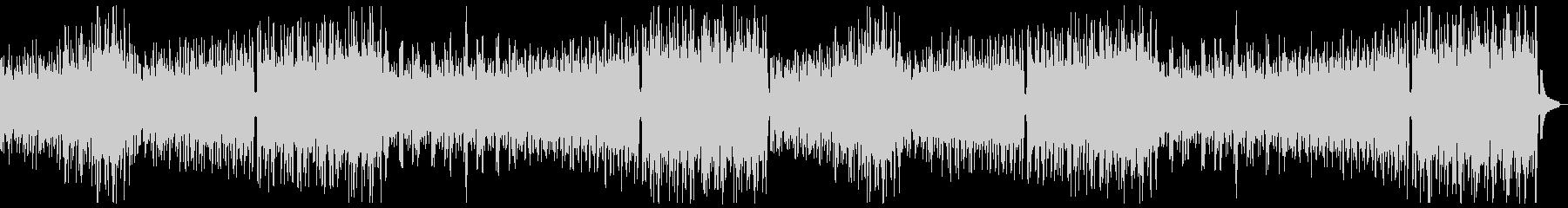 うきうき陽気なオーケストラx2の未再生の波形